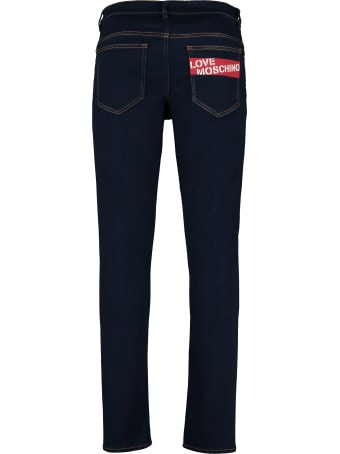 Love Moschino 5-pockets Slim Fit Jeans
