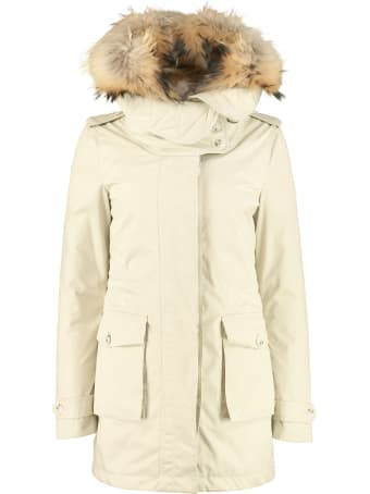 Woolrich W's Scarlett Hooded Puffer Parka With Removable Waistcoat