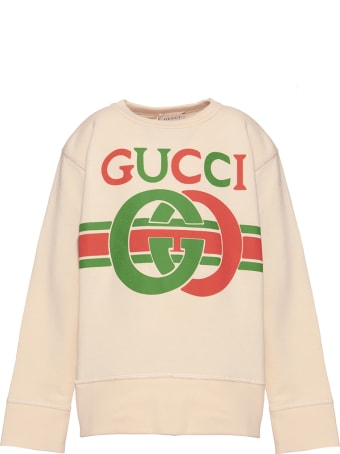 Gucci Logo Print Sweatshirt