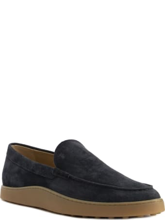Tod's Slipper Loafers In Suede