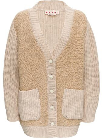 Marni Long Sleeves Over Cardigan