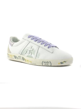 Premiata Andy Sneaker In White Leather