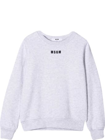 MSGM White Teen Sweatshirt