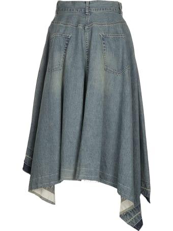 Sacai Denim Skirt