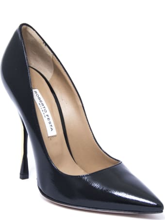 Roberto Festa Tosca Pumps In Black Leather