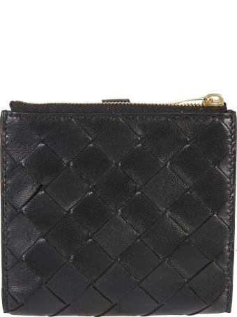 Bottega Veneta Fold Zip Wallet