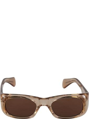 Jacques Marie Mage Logo Detail Sunglasses