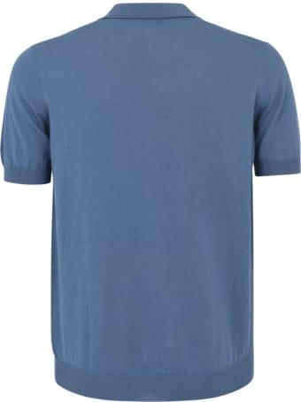 Tagliatore Ribbed Plain Polo Shirt
