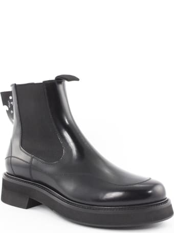Off-White Black Chelsea Boot