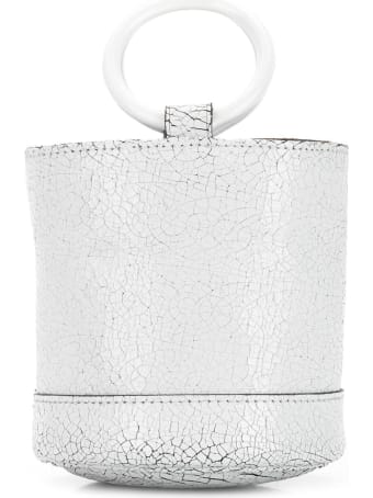 Simon Miller Cracked Effect Mini Bucket Tote