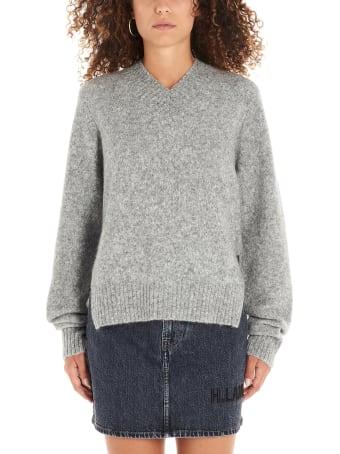 Helmut Lang 'brushed Knitwear Tie Slee' Sweater