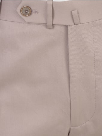 Tagliatore Cotton Stretch Gabardine Pants