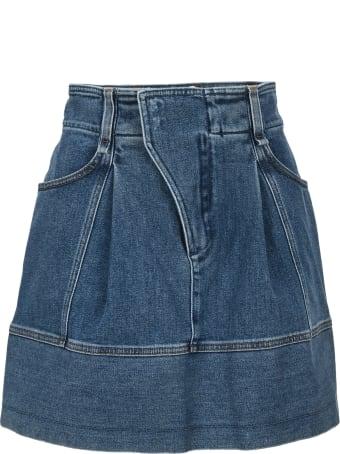 Chloé Chloe' Denim Mini Skirt