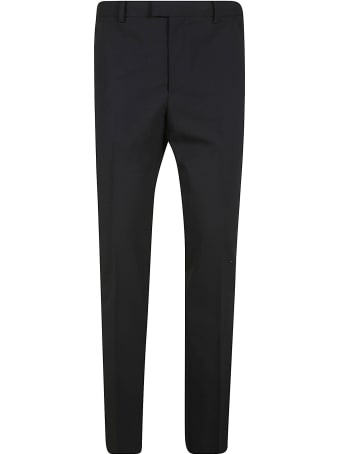 Les Hommes Ribbon On Side Classic Trousers