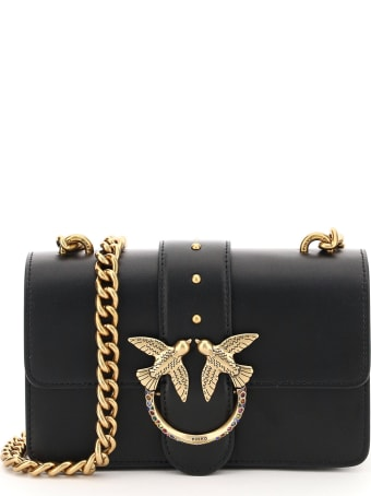 Pinko Love Mini Icon Jewel 1 Chain Bag