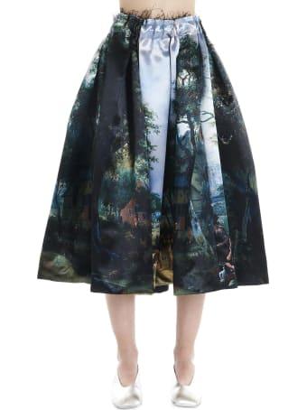 Comme des Garçons 'landscape' Skirt