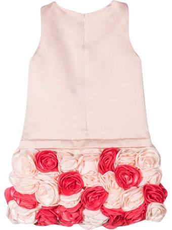 Charabia Pink Midi Dress