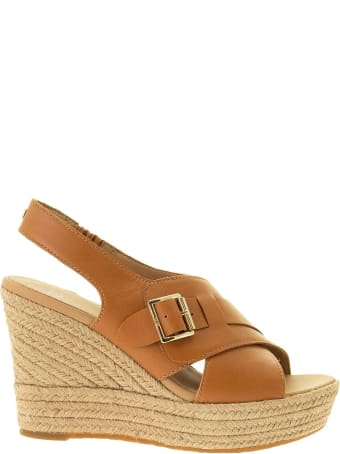 UGG Claudeene - Leather Sandal With Wedge