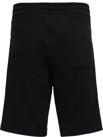 Balmain Jersey Bermuda Shorts With Logo