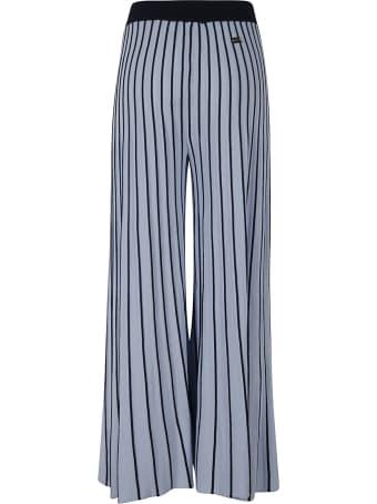 Be Blumarine Pleated Long Trousers