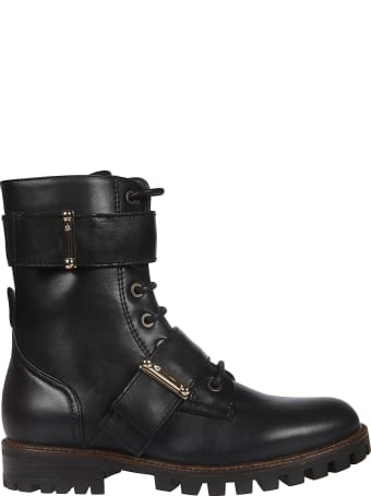 Anna Baiguera Annabkl Strapped Laced-up Boots