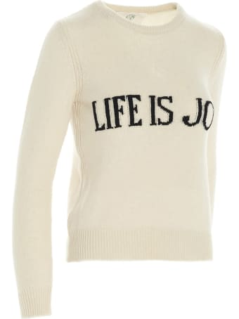 Alberta Ferretti 'life Is Joy' Sweater