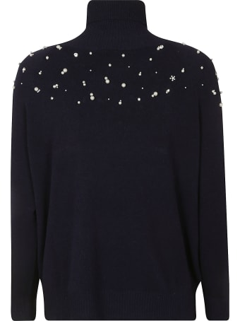 Ermanno Scervino Chest Embellished Pullover