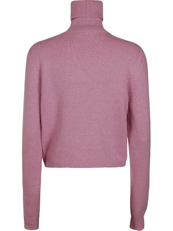 Chiara Ferragni Turtleneck Lurex Jumper