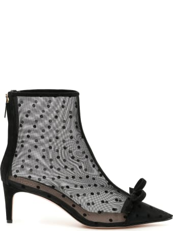 RED Valentino Plumetis Booties