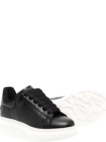 Alexander McQueen Black Sneakers Kids