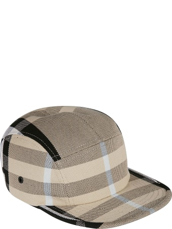 Burberry Canvas Check Cap