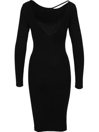 Helmut Lang V-back Dress