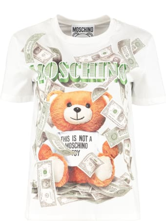 Moschino T-shirt With Front Print
