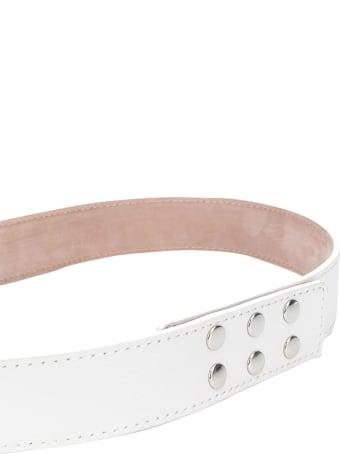 Balmain Kids Studded Belt