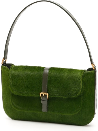 BY FAR Bicolor Pony Miranda Bag