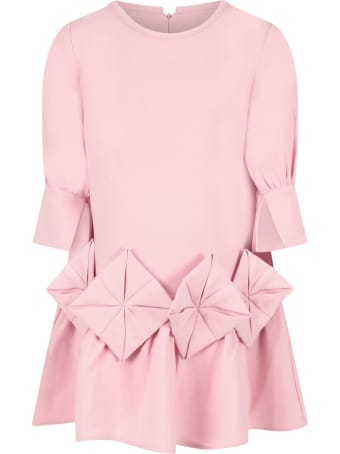 Owa Yurika Pink ''shion'' Dress For Girl