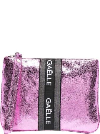 Gaelle Bonheur Clutch With Print
