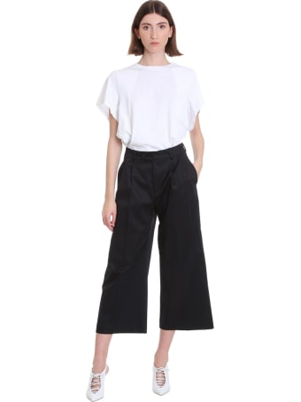 Mauro Grifoni Pants In Black Cotton