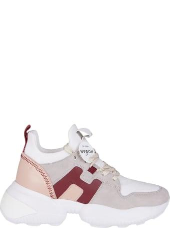 Hogan Multicolor Suede Interaction Sneakers