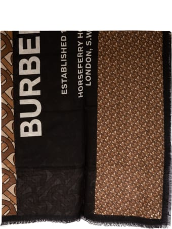Burberry Horseferry Text Foulard