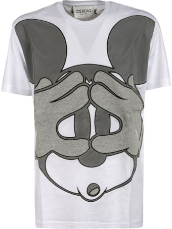 Iceberg Mickey Mouse T-shirt
