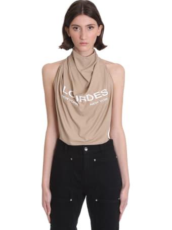 Lourdes Topwear In Beige Cotton