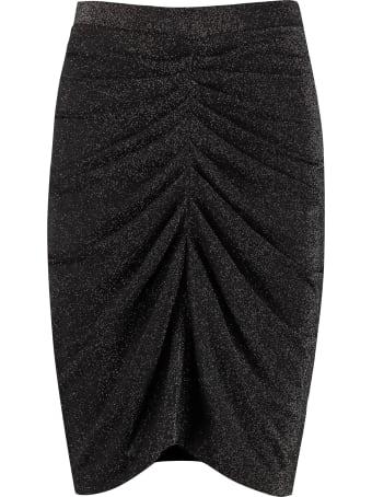 IRO Knitted Lurex Skirt
