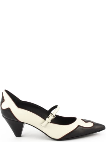 Roberto Festa Ailea Pumps In Black And White