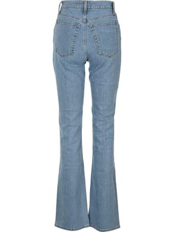 Helmut Lang Femme High Bootcut Jeans By Helmut Lang