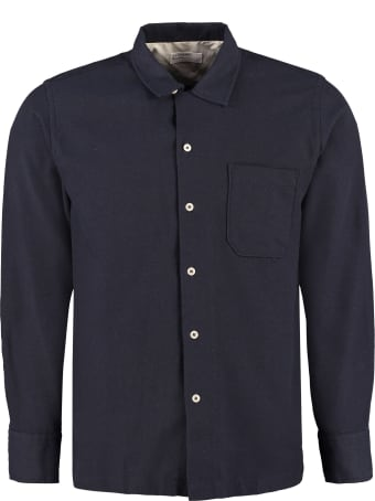Universal Works Garage Long Sleeve Cotton Blend Shirt