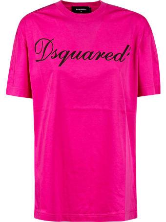 Dsquared2 Signature Logo Oversize T-shirt
