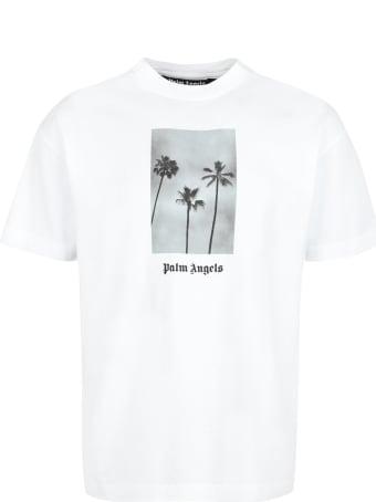 Palm Angels Cotton Crew-neck T-shirt