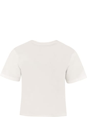 Local Authority LA Malibu Racing Cropped T-shirt