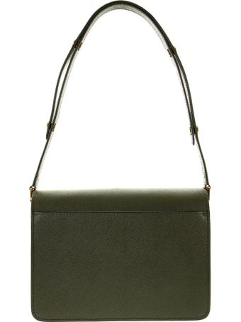 Marni Trunk Bag In Saffiano Leather